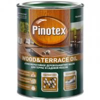 Масло для террас Pinotex Wood&Terrace Oil База под колеровку 1 л